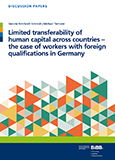 Limited transferability of human capital across countries
