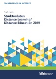 Strukturdaten Distance Learning/ Distance Education 2019