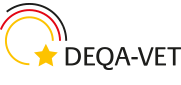 Logo: deqa-vet (English version)