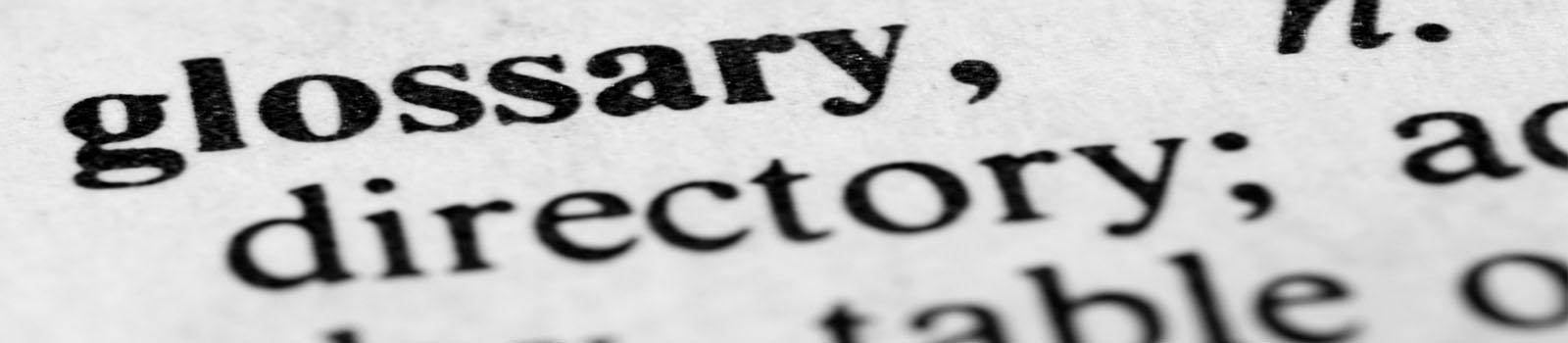 VET Glossary