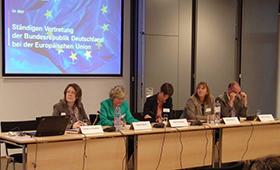 Informationsveranstaltung in Brüssel zur internationalen Kooperation in der beruflichen Bildung