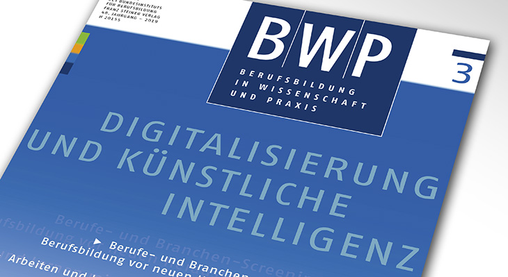 BWP 3/2019: Digitalisation and artificial intelligence