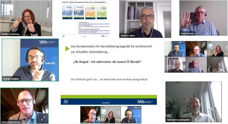 Online-Veranstaltung: Sie fragen – wir antworten: Die neuen IT-Berufe