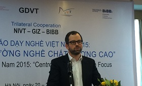The new TVET Report Viet Nam 2015 - developed within the scope of Vietnamese-German cooperation