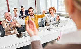 Überwiegend gute Stimmung in der Weiterbildungsbranche