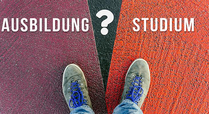 Duale Aus- und Fortbildung oder Studium?