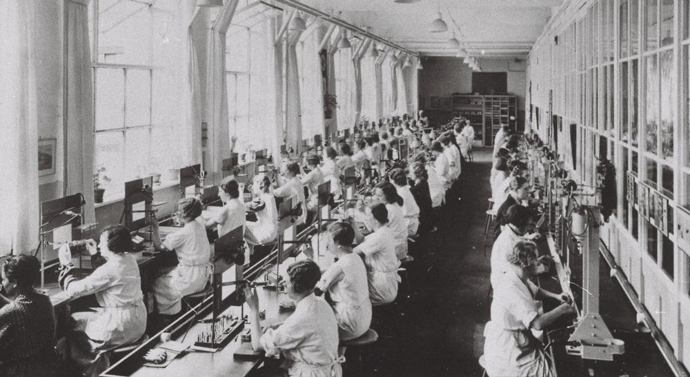 Anlernwerkstatt, Siemens & Halske, 1936