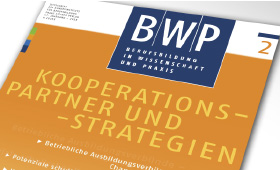 BWP 2/2018 published: Cooperations in VET