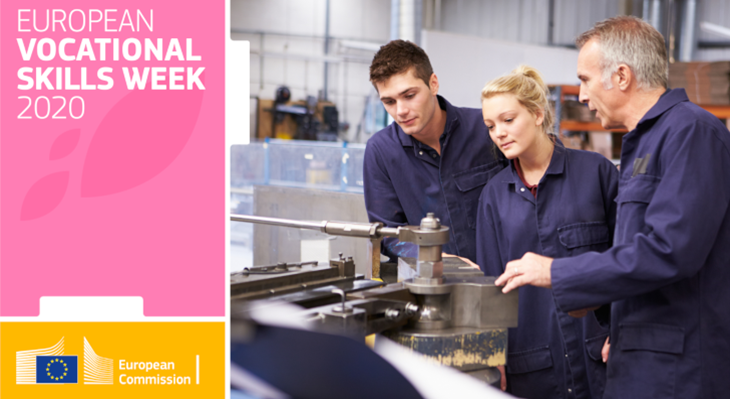 European Vocational Skills Week: 'VET for Green and Digital Transitions'