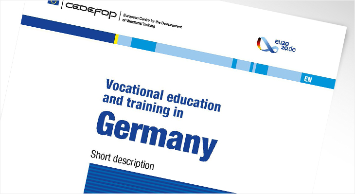 Report on VET in Germany 2020