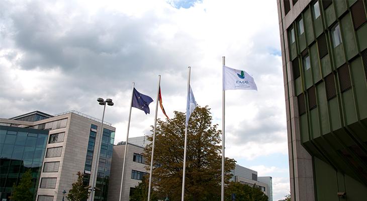 Flagge zeigen für 25 Jahre EMAS