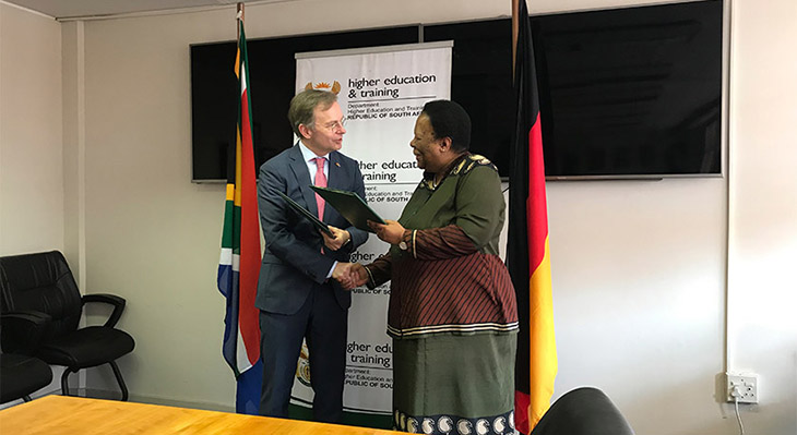 Germany and South Africa are extending their cooperation in vocational education and training