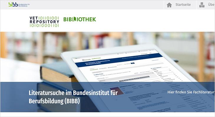 Neue Fachliteratur für das VET Repository freigeschaltet
