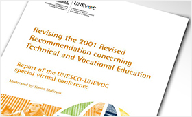 UNESCO revised Recommendation concerning TVET