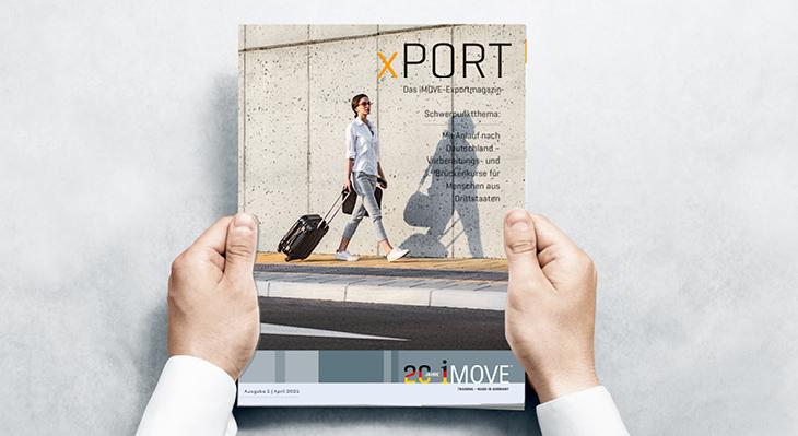 iMOVE-Exportmagazin xPORT 1/2021 erschienen