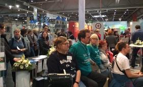 Alphabetisierung auf der Leipziger Buchmesse