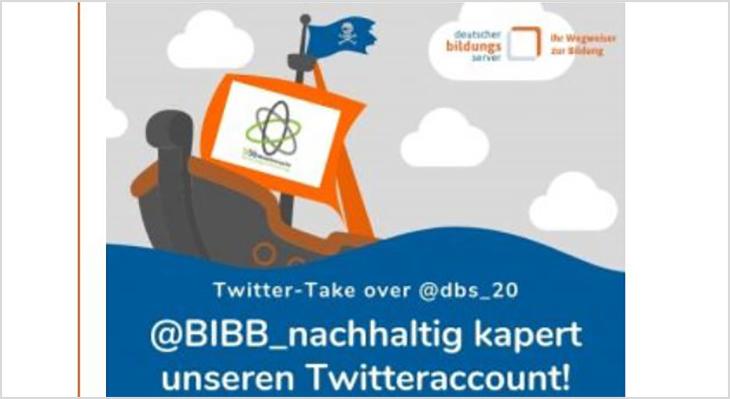 @BIBB-nachhaltig kapert den Bildungsserver-Twitteraccount