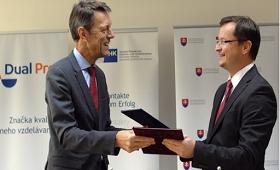 Start der dualen Ausbildung in der Slowakei