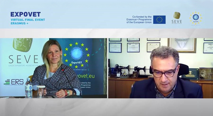 Erasmus+ Project EXPOVET - European Joint Further Qualification for Export Experts
