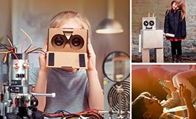 Illustration: Collage mit Bildmotiven zum Wissenschaftsjahr 2018