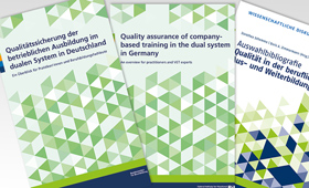 Taking the right approach – quality assurance in company-based training