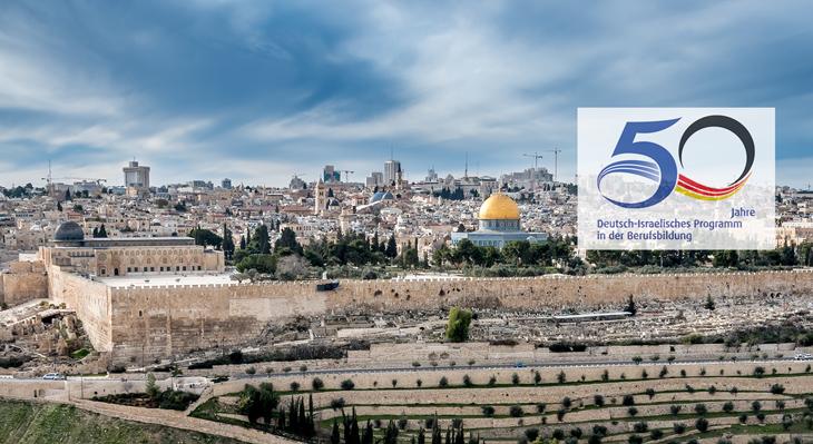 Festakt zum 50. Jubiläum des Deutsch-Israelischen Programms zur Zusammenarbeit in der Berufsbildung