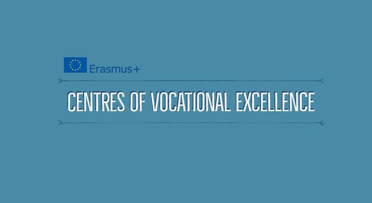 """Erasmus+ Projektaufruf """"Zentren der beruflichen Exzellenz"""""""