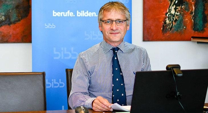 Picture of Prof. Dr. Hubert Ertl, vice president of the BIBB