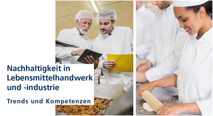 Neuer Flyer: Nachhaltigkeit in Lebensmittelhandwerk und -industrie