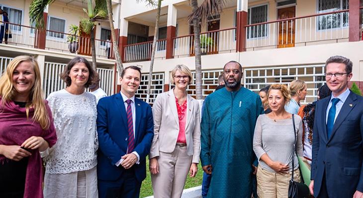iMOVE begleitet Bundesministerin Karliczek auf Ghana-Reise