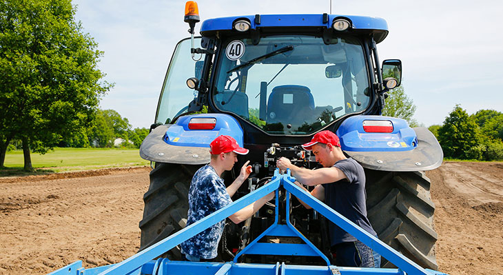 Duale Ausbildung in der Landwirtschaft in Russland