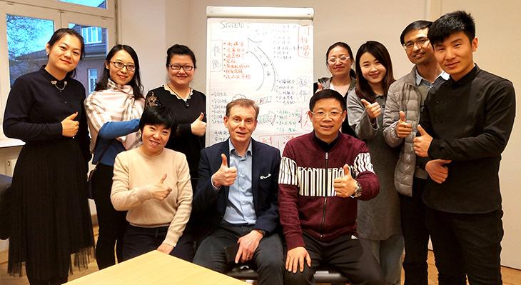 Fortbildung von chinesischen Berufsschullehrern im E-Commerce