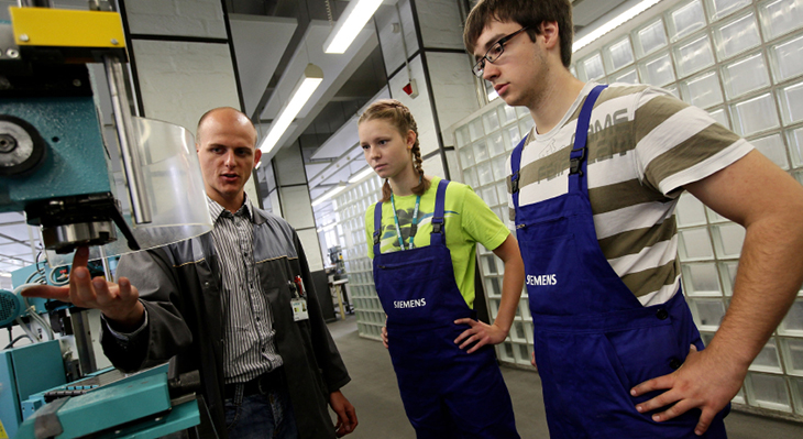 Transitions to vocational education and training