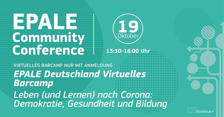 EPALE Deutschland Virtuelles Barcamp