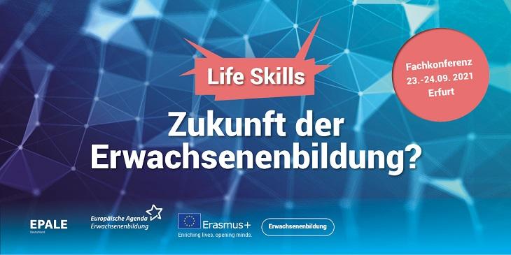 """Fachkonferenz: """"Life Skills – Zukunft der Erwachsenenbildung?"""