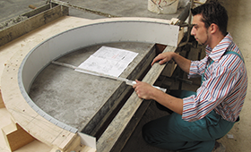 Gespritzt oder geschleudert? – Betonprofis kennen sich aus