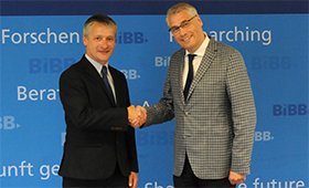 Hubert Ertl is the new Head of Research at the BIBB