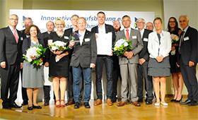 Gruppenfoto Preisträger des Hermann-Schmidt-Preises 2018