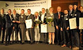 Gruppenbild der Hermann-Schmidt-Preisträger 2016
