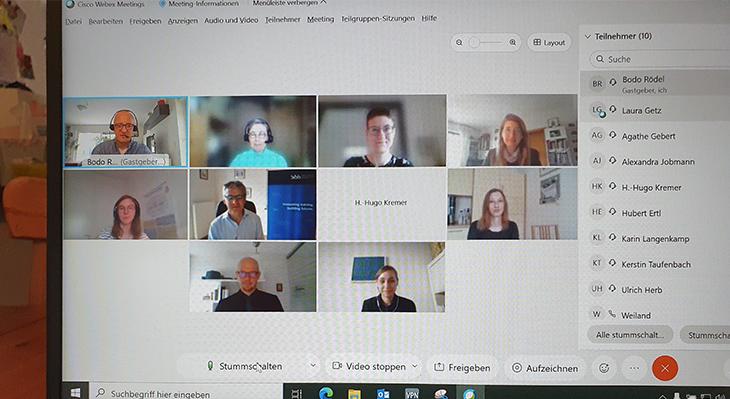 Dritte Sitzung des Beirats zum Forschungsprojekt