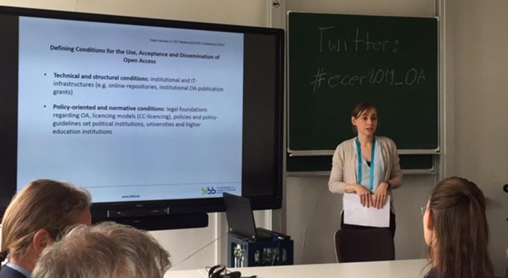 """Forschungsprojekt """"Open Access in der Berufsbildungsforschung"""" vorgestellt"""