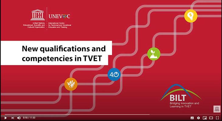 Präsentation der BBNE-Modellversuche auf der UNESCO-UNEVOC virtuellen Konferenz