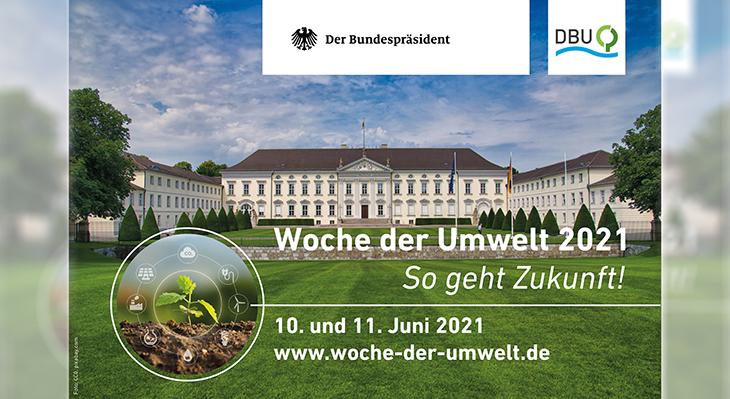 Woche der Umwelt am 10. und 11. Juni 2021
