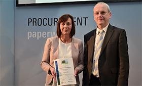 """Preisträger des Wettbewerbs """"Büro & Umwelt"""" ausgezeichnet"""