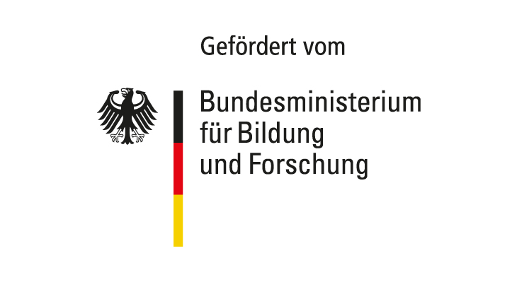 """BMBF-Logo """"gefördert vom"""""""
