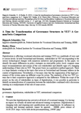 Hippach-Schneider, Ute; Rieder, Elena: A Time for Transformation of Governance Structures in VET? A German/Swiss Comparison