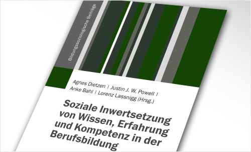 Cover: Soziale Inwertsetzung von Wissen, Erfahrung und Kompentenz in der Berufsbildung