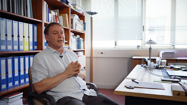 Videointerview Frédéric Lebaron